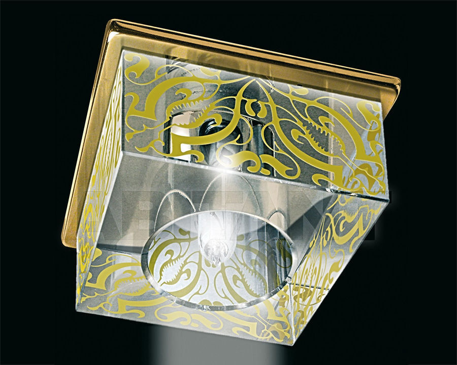 Купить Встраиваемый светильник Gumarcris  Crystal Spot Lights 1643OR