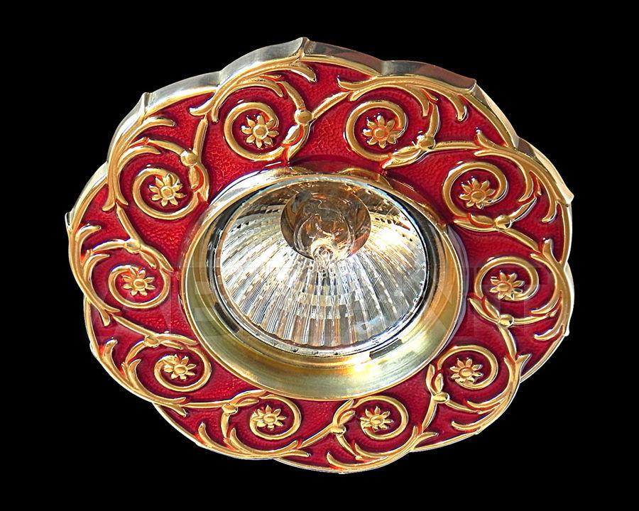 Купить Встраиваемый светильник Gumarcris  Metallic 393ROJ