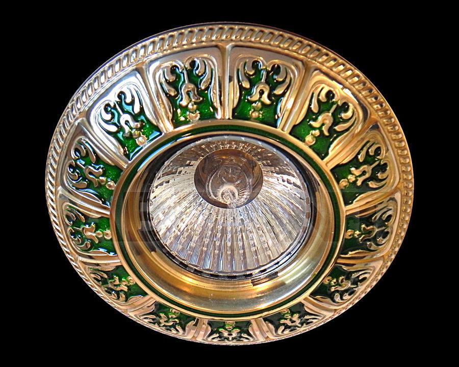 Купить Встраиваемый светильник Gumarcris  Metallic 401VER
