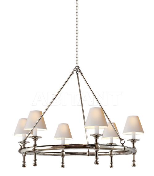 Купить Люстра Classic Ring Chandelier Visual Comfort & Co SL 5812PN-NP