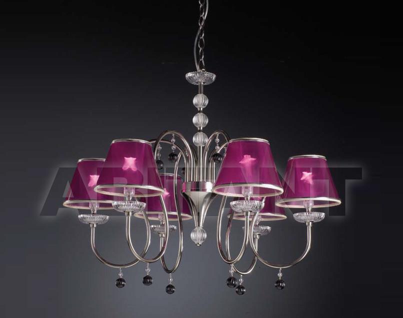 Купить Люстра Paris Leonardo Luce Italia Interno Decorativo 2427/S6FUX