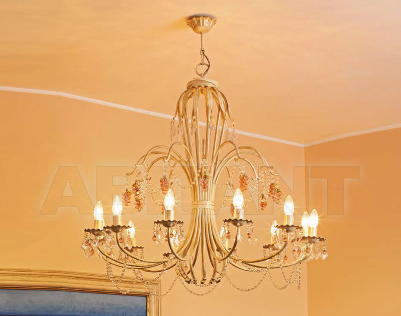Купить Люстра Autunno Leonardo Luce Italia Interno Decorativo 2354/S12