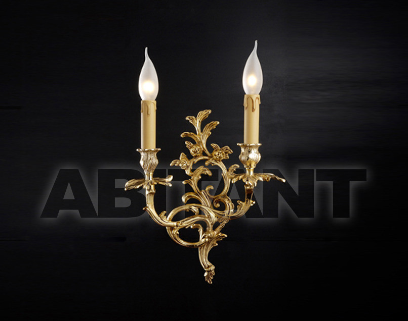 Купить Светильник настенный Arredo Luce Gold Light And Crystal 12.227/2