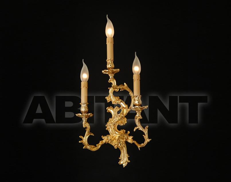 Купить Светильник настенный Arredo Luce Gold Light And Crystal 12.485/3