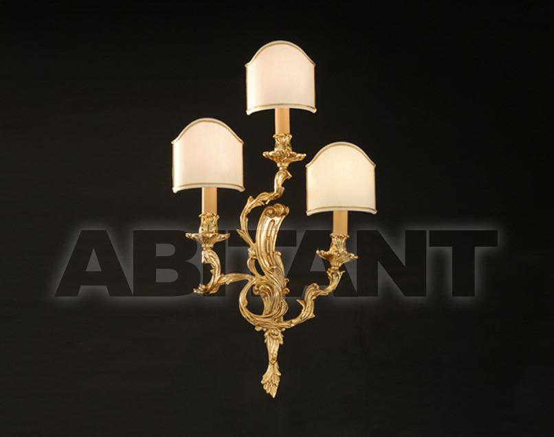 Купить Светильник настенный Arredo Luce Gold Light And Crystal 12.486/3