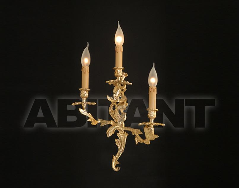 Купить Светильник настенный Arredo Luce Gold Light And Crystal 12.416/3