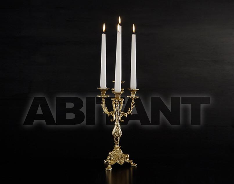 Купить Подсвечник Arredo Luce Gold Light And Crystal 12.904/4