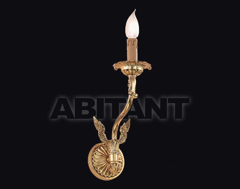 Купить Светильник настенный Arredo Luce Gold Light And Crystal 12.765/1