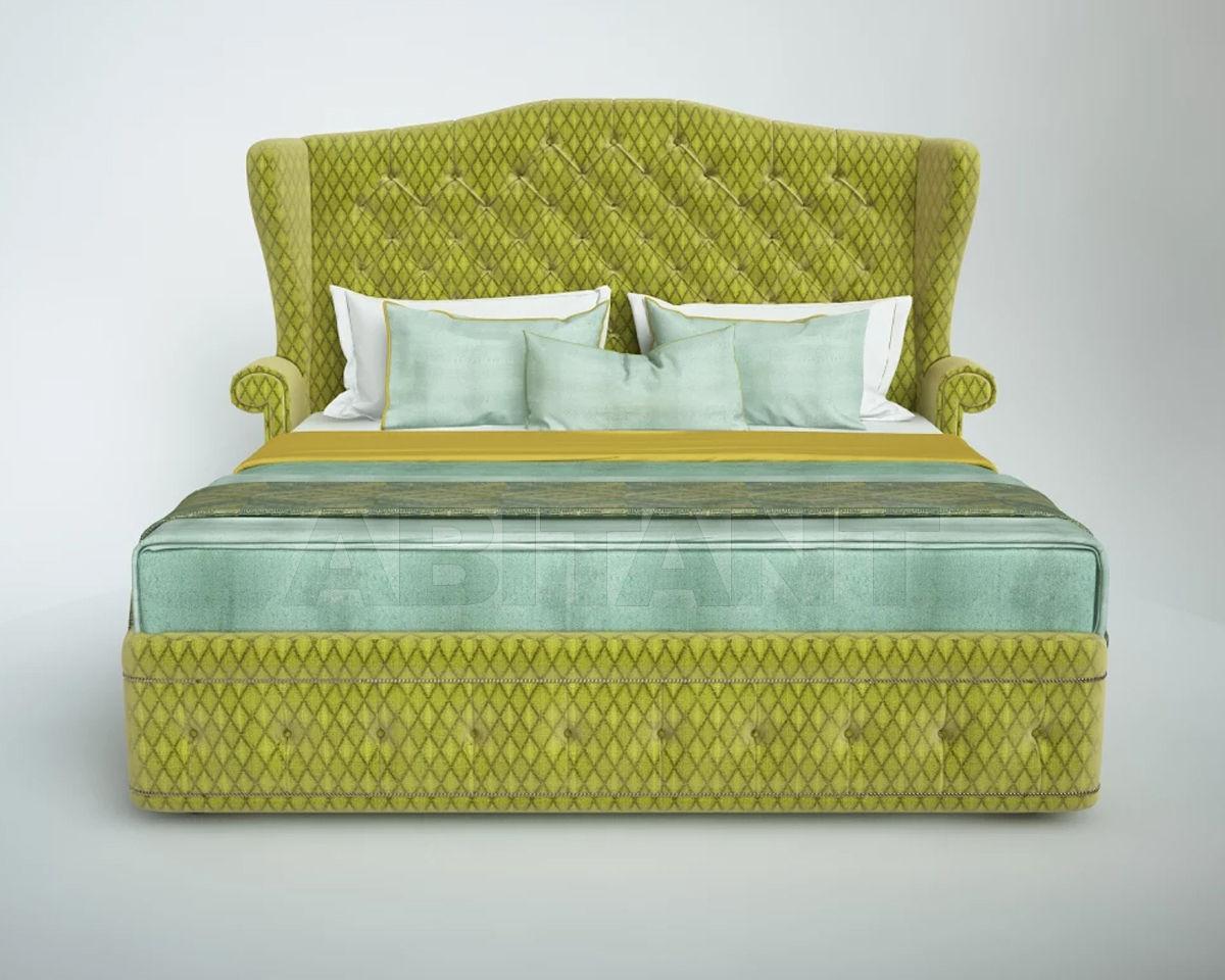 Купить Кровать Ольга с капитонами