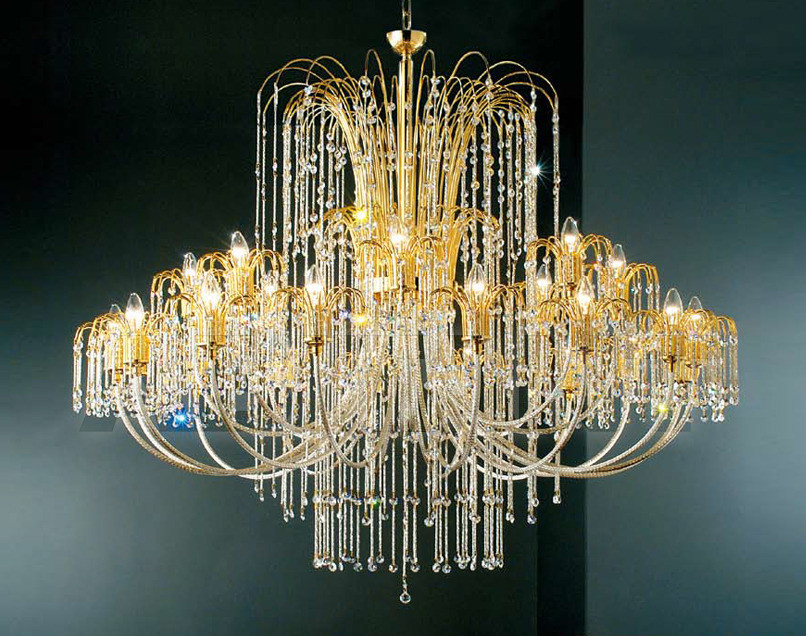 Купить Люстра Arredo Luce Royal Crystal 405/16+8