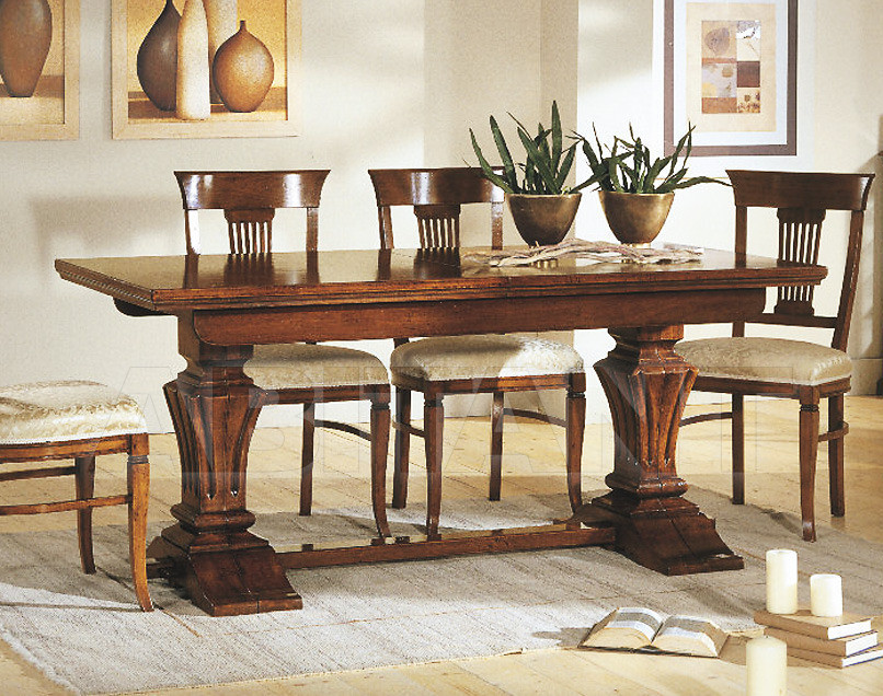 Купить Стол обеденный Tarocco Vaccari Group Complimenti 15328