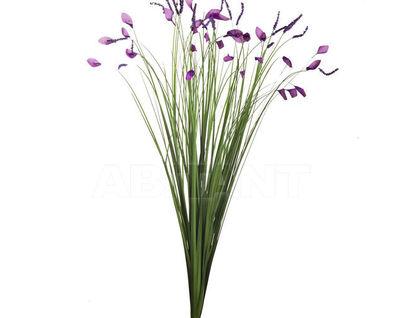 8J-12RB0001Стебли травы с цветами 70см(12)