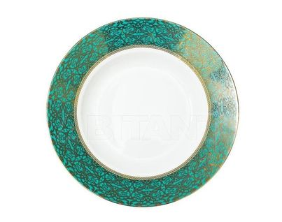 25WIN RIVIERA SPLATE20 Тарелка суповая 20см,цвет бирюзовый (4)