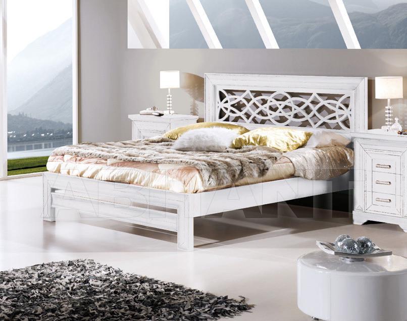 Купить Кровать Tarocco Vaccari Group Euromobili EU-1207 White