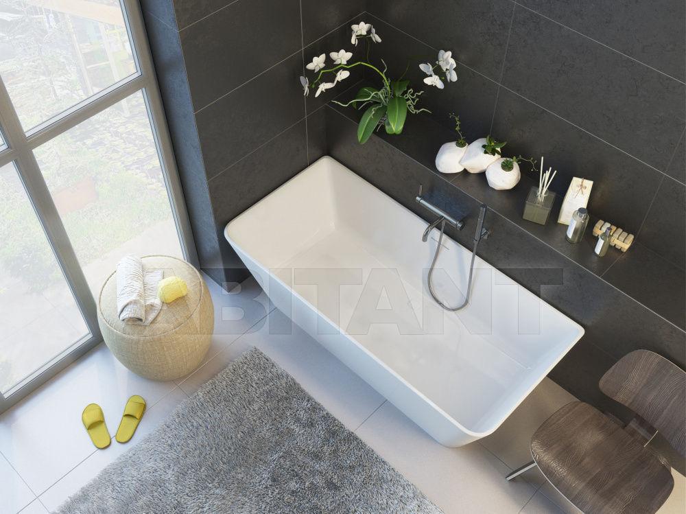 Купить Ванна из литого мрамора ALPEN Novara 170 Alpen NOV-170M