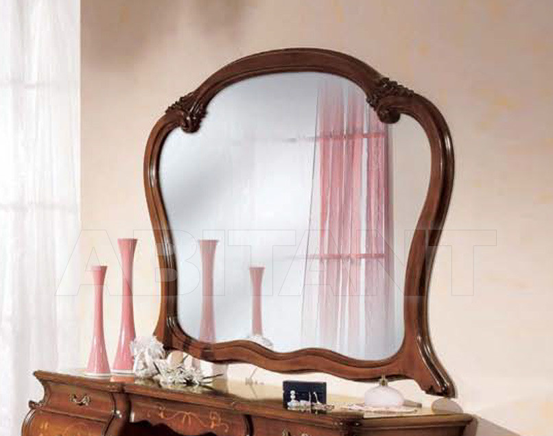 Купить Зеркало настенное Tarocco Vaccari Group Luxury P773 noce