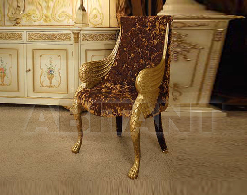 Купить Стул с подлокотниками Belloni Classico 2591/a gold