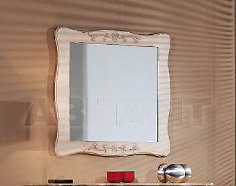 Купить Зеркало настенное Tarocco Vaccari Group White 11717/LBA