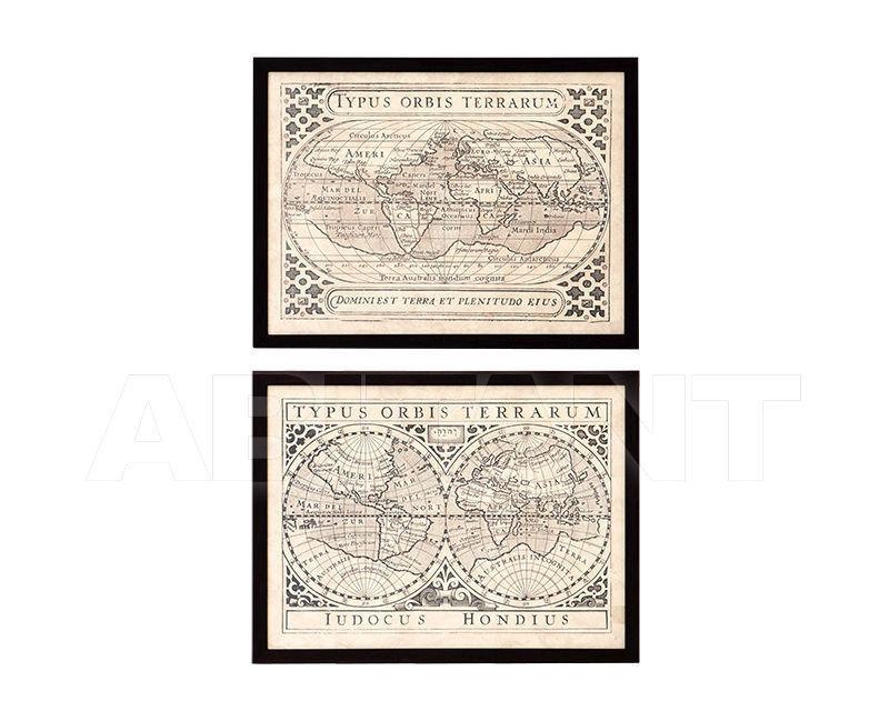 Купить Композиция Vintage Maps Eichholtz  Accessories 106907