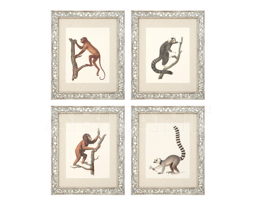 Купить Композиция Guadeloupe II Eichholtz  Mirrors And Prints 108263