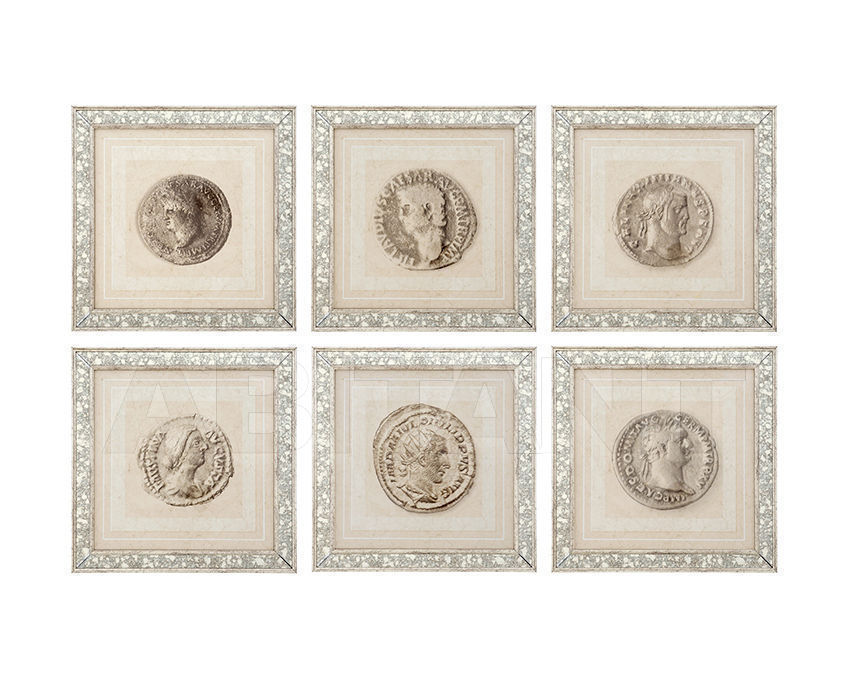 Купить Декоративное панно Roman Coins Eichholtz  Mirrors And Prints 108264