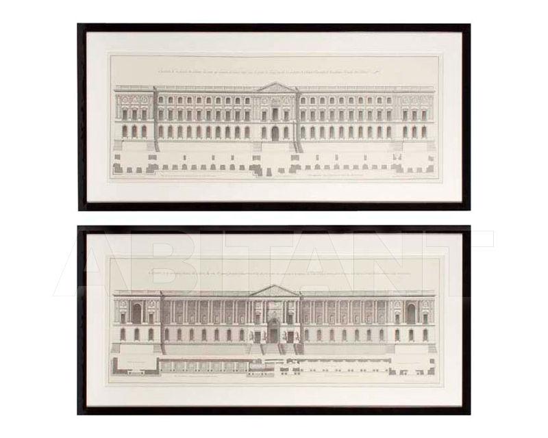 Купить Картина La Façade Du Louvre Eichholtz  Accessories 106540