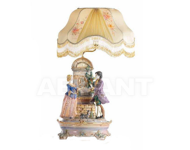 Купить Лампа настольная Ceramiche Lorenzon  Gruppi L.726/COL