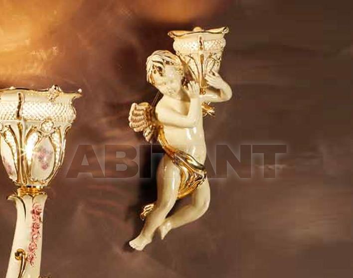 Купить Светильник настенный Ceramiche Lorenzon  Gruppi L.835/L/AVOL/U