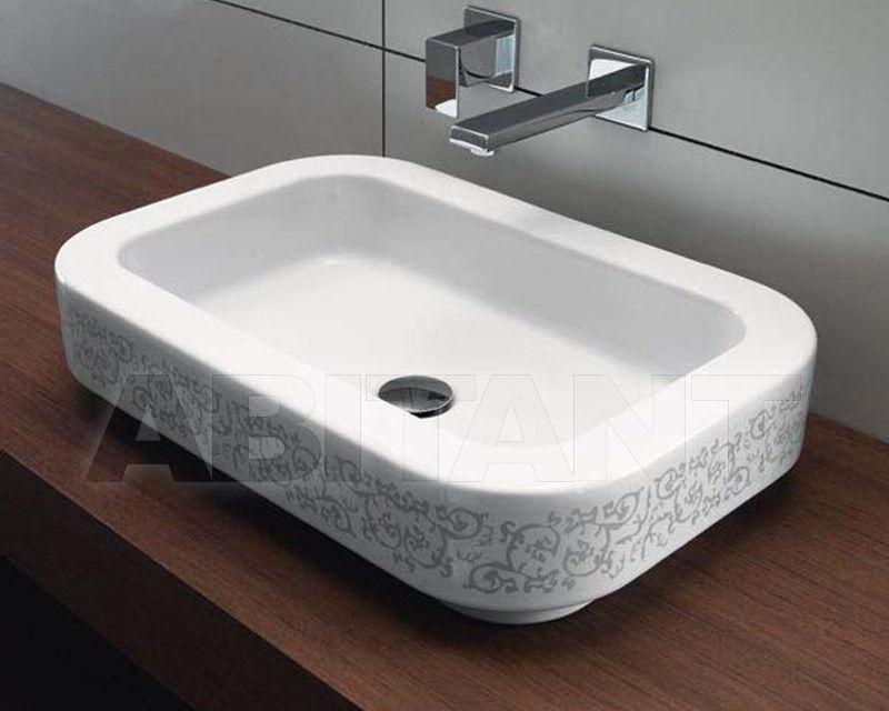 Купить Раковина накладная S 60 BIANCO GSI Ceramica Traccia 693711