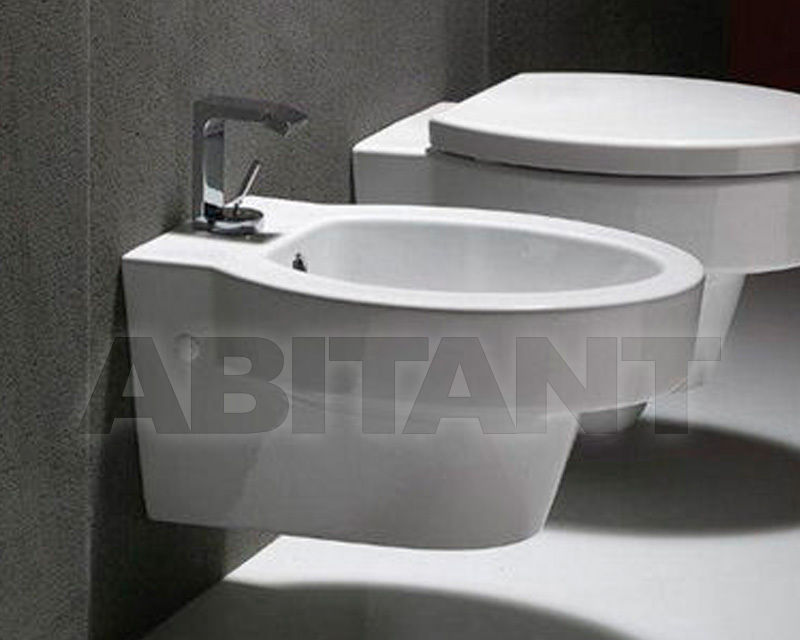 Купить Биде подвесное SLIM BIANCO GSI Ceramica Losanga 756411
