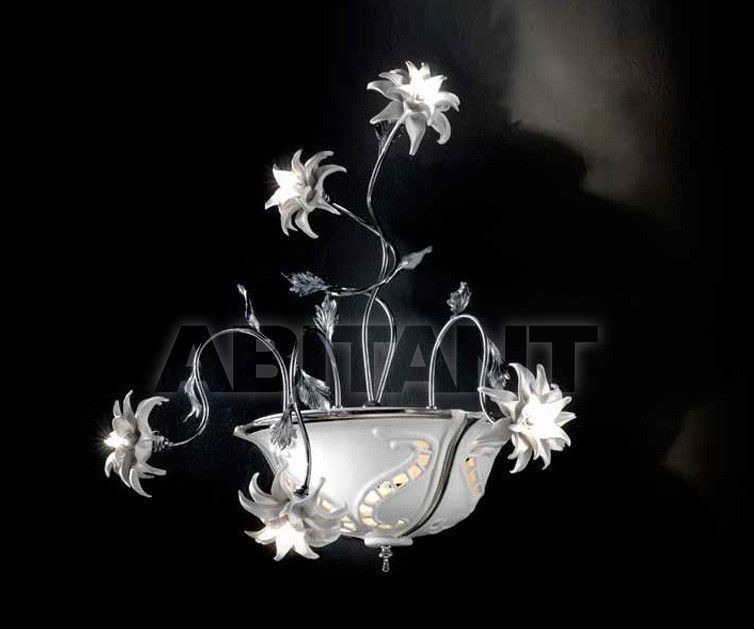 Купить Светильник настенный Ceramiche Lorenzon  Luce LA.18/BP/F/5F