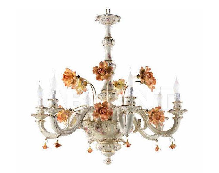 Купить Люстра Ceramiche Lorenzon  Luce B1/F/AVO/6F