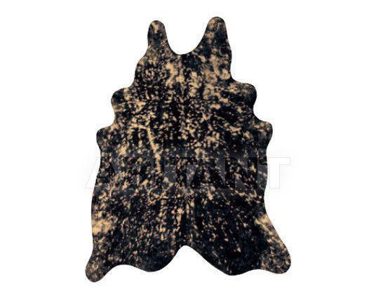 Купить Шкура Tisca Italia s.r.l. Aubusson cow metal oro/nero