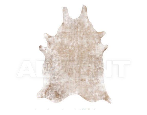 Купить Шкура Tisca Italia s.r.l. Aubusson cow metal argento/marrone