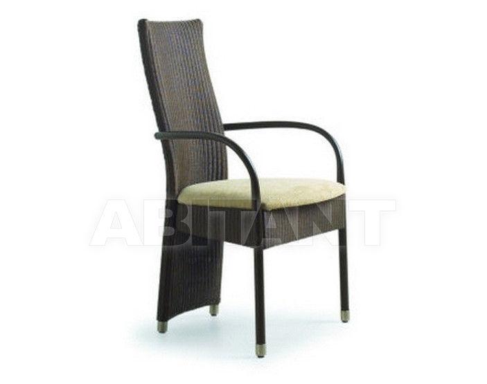Купить Стул с подлокотниками Loom Italia by Serramenti Granzotto   Giorno AC14LS  FABRIC SEAT