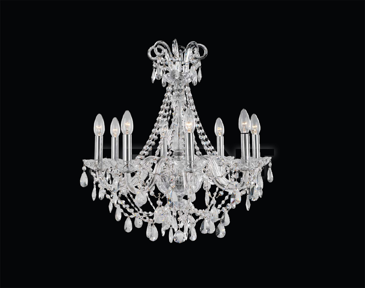 Купить Люстра VIRGINIA Iris Cristal Luxus 620188 8 2