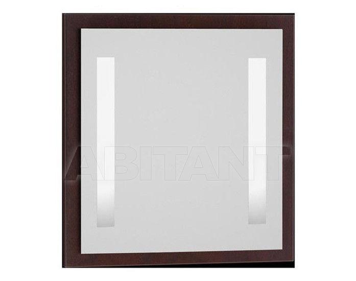 Купить Зеркало Vitra Idraulico Зеркало c подсветкой 75 см, цвет лесной орех