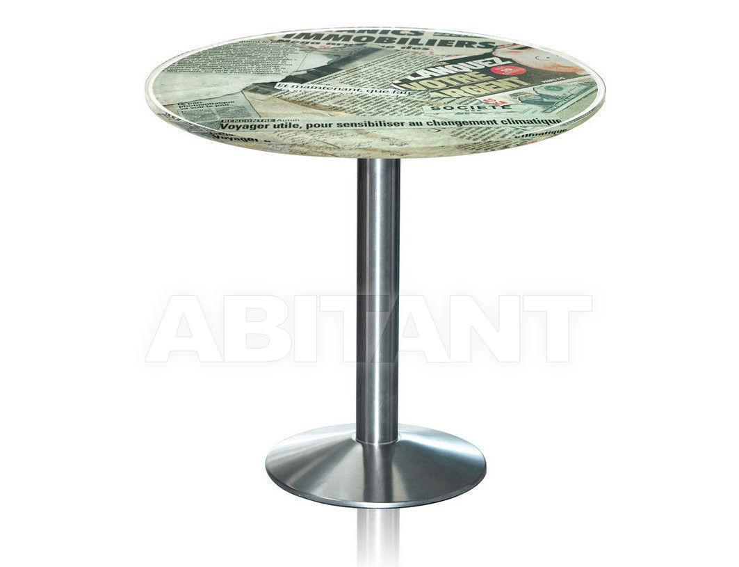 Купить Стол Acrila Bistrot Bar high table or Table Old Newspapers