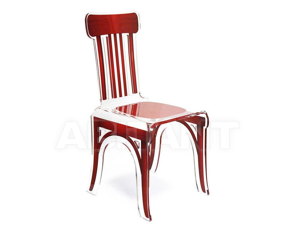 Купить Стул Acrila Bistrot Bistrot chair Red wood
