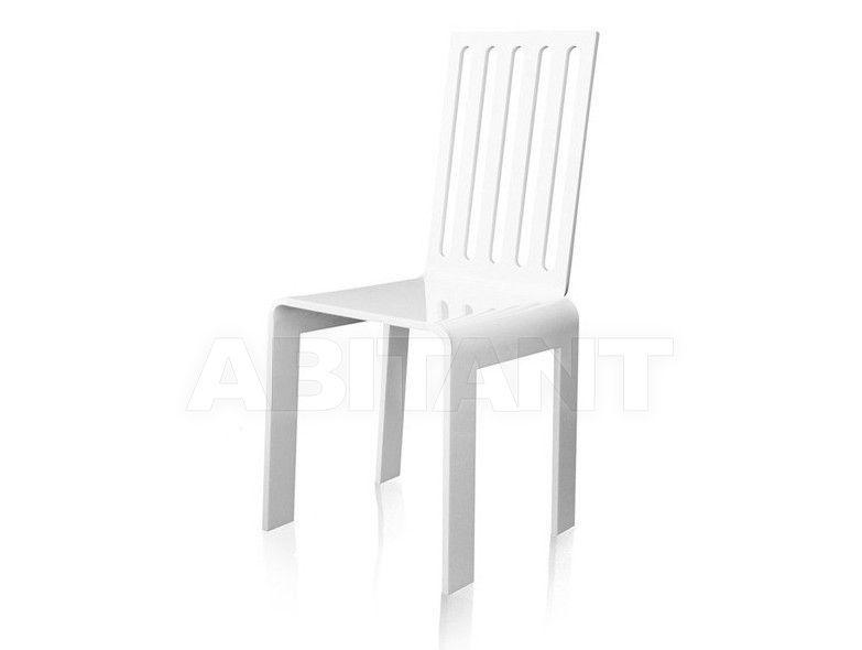 Купить Стул Acrila Outdoor rung chairs white