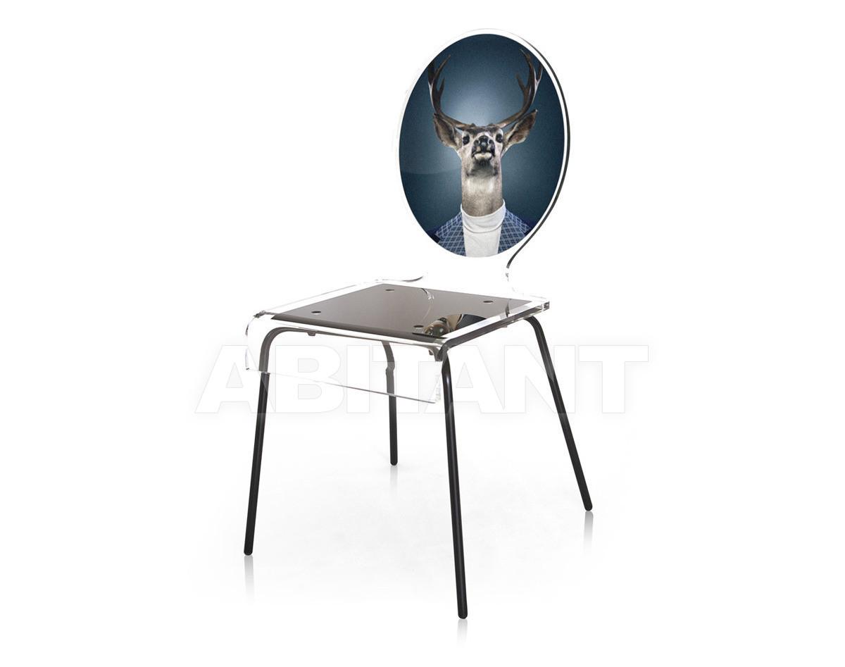 Купить Стул Acrila Graph Line Сhair Blue Deer