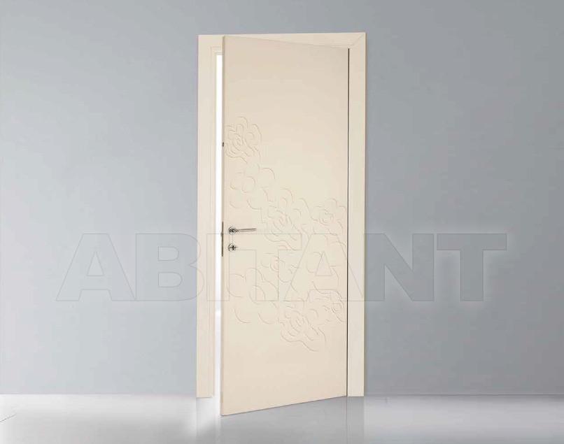 Купить Дверь деревянная Bertolotto Natura trolius incisa white pearl