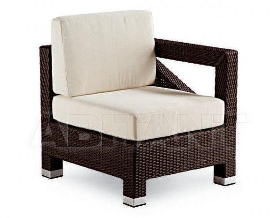Купить Кресло TEOREMA Contral Outdoor 537/SX COF = coffee