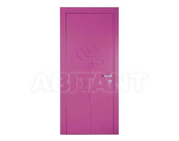 Купить Дверь деревянная Bertolotto Natura rosa incisa fiolet