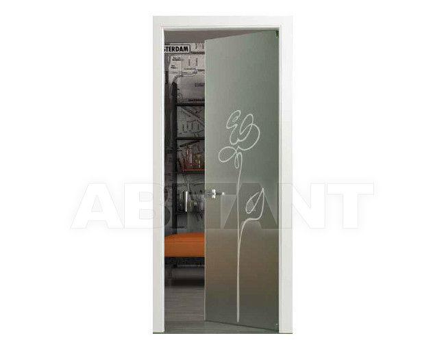 Купить Дверь  стеклянная Bertolotto Natura 3243 sabbiato