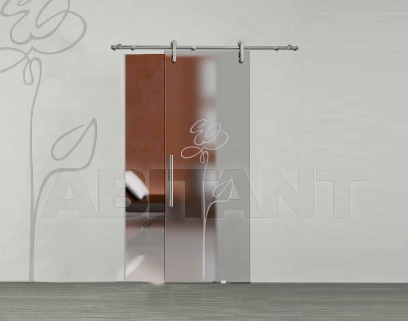 Купить Дверь  стеклянная Bertolotto Natura 3243 sabbiato extra