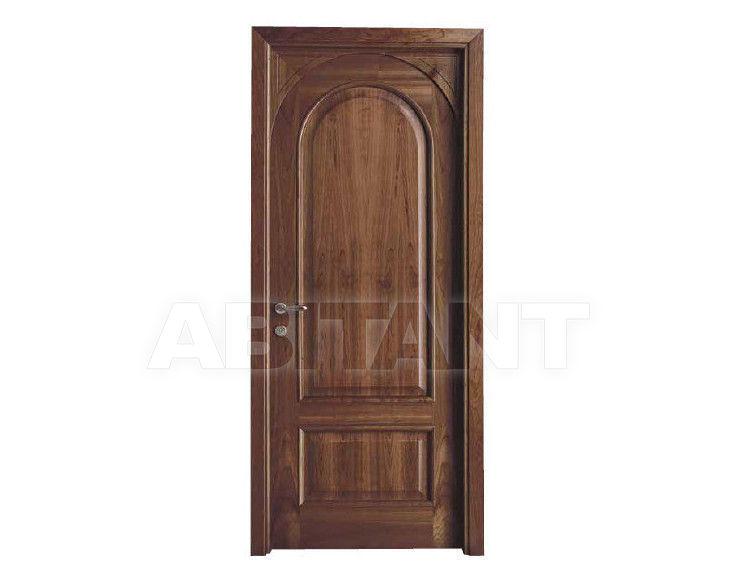 Купить Дверь деревянная Bertolotto Venezia h13 arc p Noce Nazionale