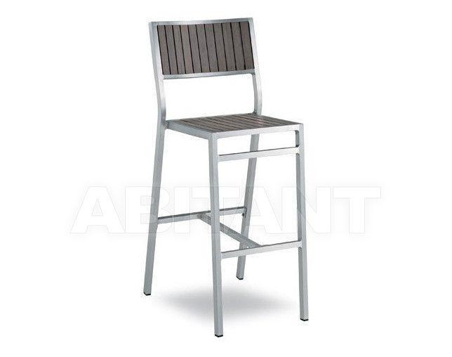 Купить Барный стул BAVARIA Contral Outdoor 669 GR = grigio