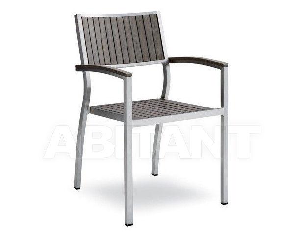 Купить Стул с подлокотниками BAVARIA Contral Outdoor 745 GR = grigio