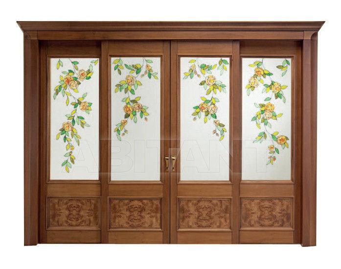 Купить Дверь деревянная Bosca Venezia Borgo HC 08 Decoro Roses